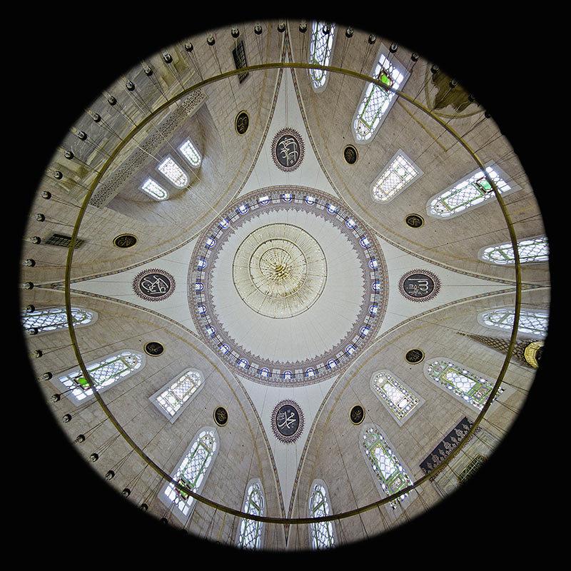 la Cupola della Moschea Yavuz Sultan Selim