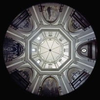 la Sagrestia di Santo Spirito a Firenze