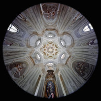 la Cappella della Visitazione - Santuario del Vallinotto a Carignano