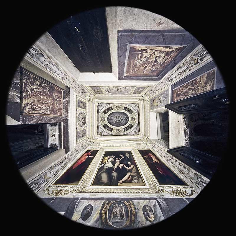 la Cappella dei Santi Cosma e Damiano nel Palazzo Vecchio a Firenze