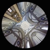 la Cappella Pazzi nella Basilica di Santa Croce a Firenze