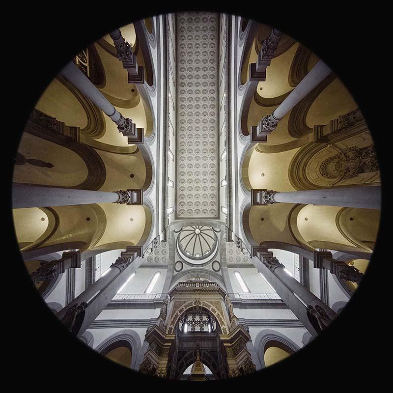 la Basilica di Santo Spirito a Firenze