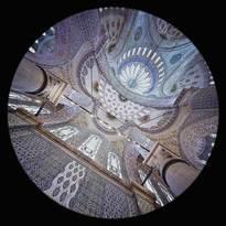 un'Abside della Moschea Blu a Istanbul