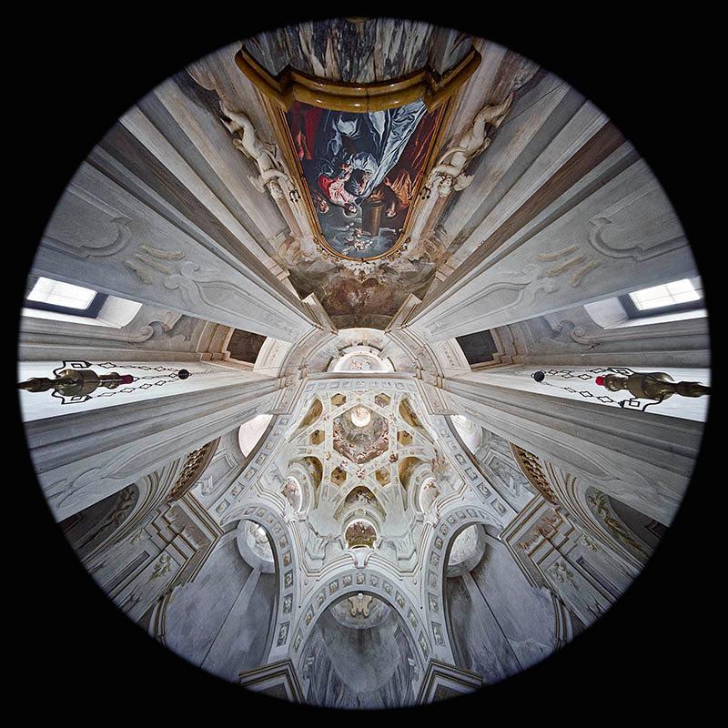 l'Abside della Cappella della Visitazione a Carignano