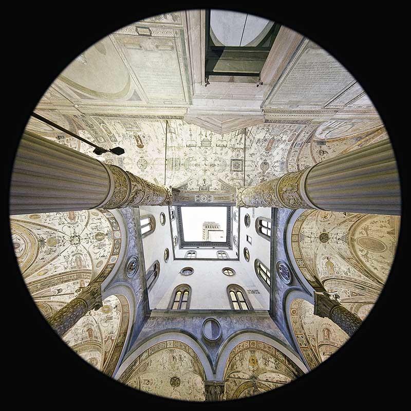 Cortile di Michelozzo - Palazzo Vecchio - Firenze