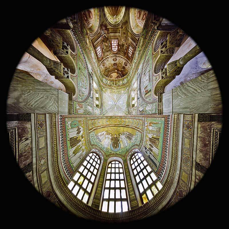 Apse of Presbytery, San Vitale Basilica, Ravenna
