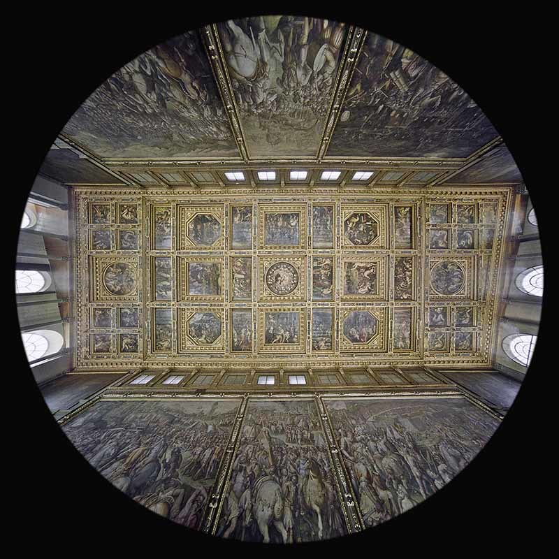 il Salone dei Cinquecento in Palazzo Vecchio