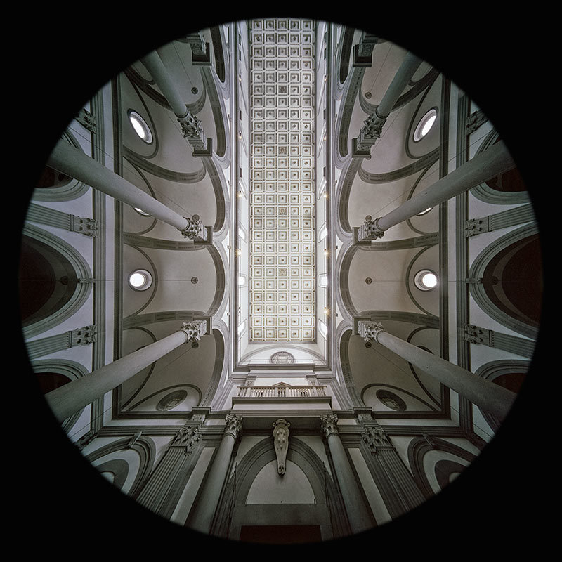la Controfacciata di San Lorenzo a Firenze