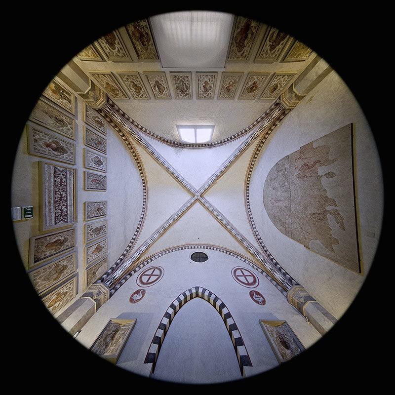 Cappella degli Ubriachi nella Basilica di Santa Maria Novella - Firenze