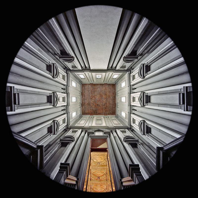 Vestibule, Laurentian Library, Florence
