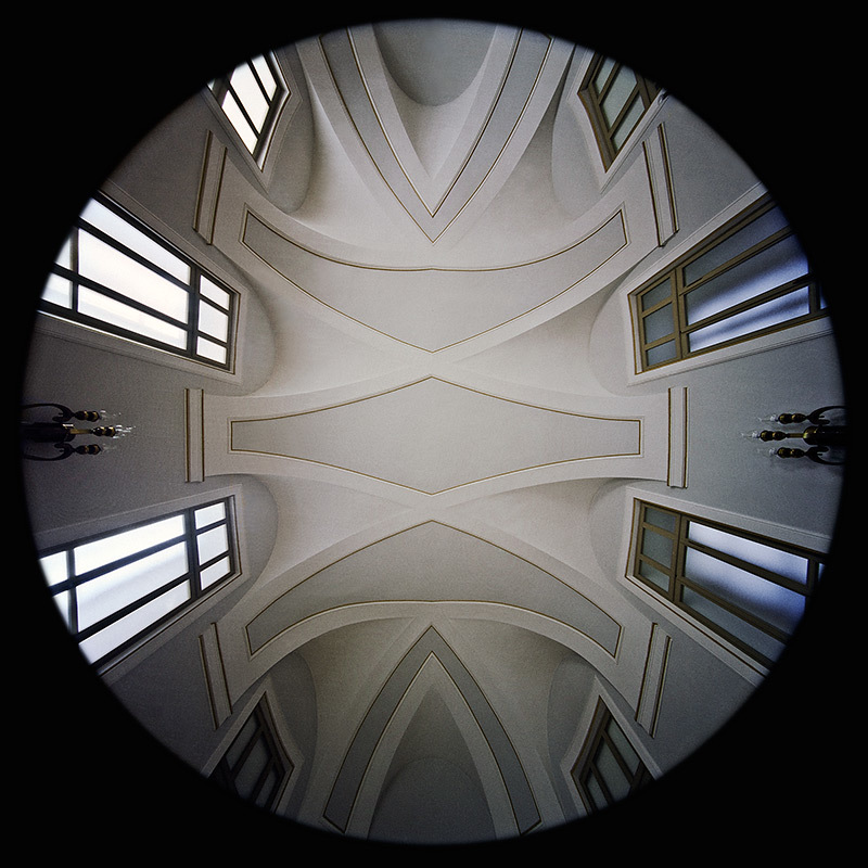 la Sala Vici nel Palazzo Campana a Osimo