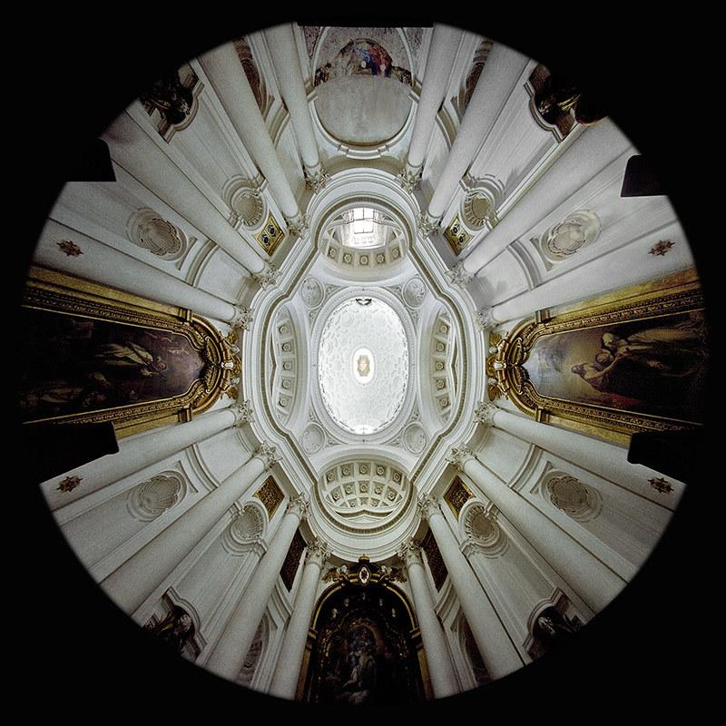 la Chiesa di San Carlo alle Quattro Fontane a Roma