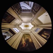 la Cappella Barberini in San Carlo alle Quattro Fontane a Roma