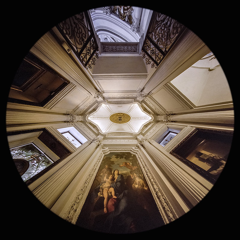 Cappella Barberini - San Carlo alle Quattro Fontane - Roma