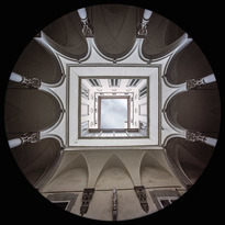 Cortile di Palazzo Ricasoli Firidolfi - Firenze