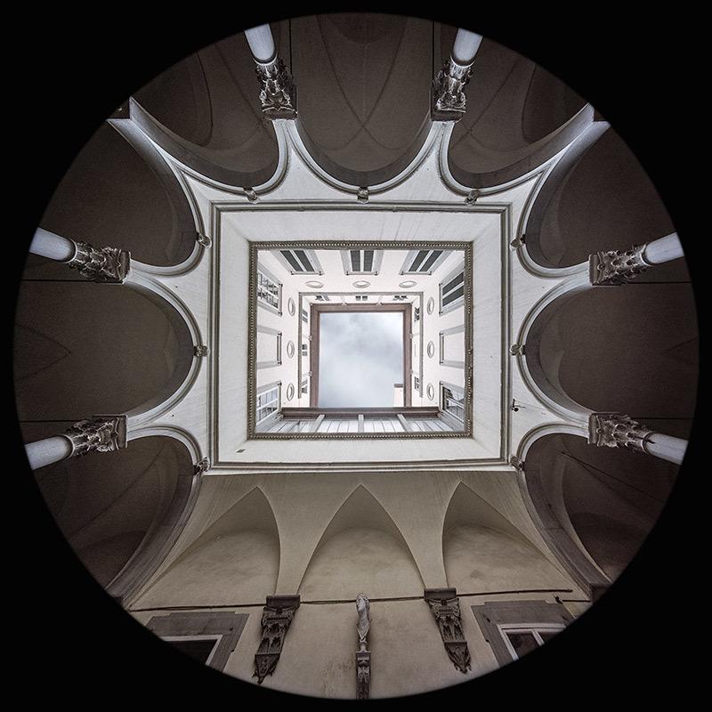Courtyard, Ricasoli Firidolfi Palace, Florence