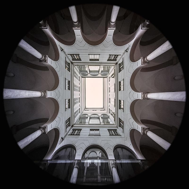 il Cortile del Palazzo Bianco