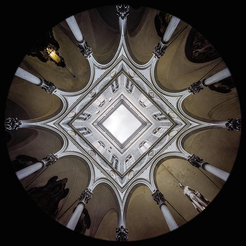 Courtyard, Medici Riccardi Palace, Florence