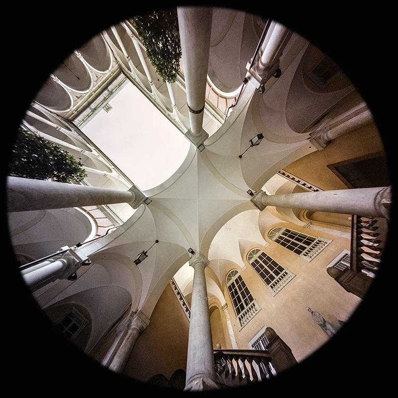 Portico, Doria Tursi Palace