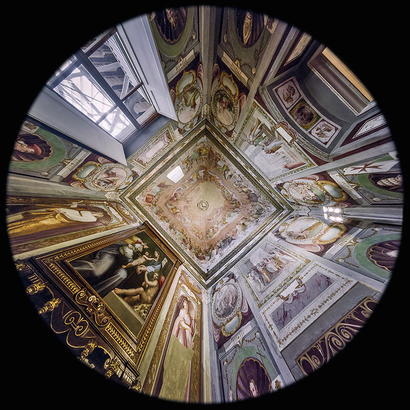 la Cappella vecchia nella Villa medicea La Petraia a Firenze