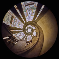 Royal Staircase, Farnese Palace, Caprarola