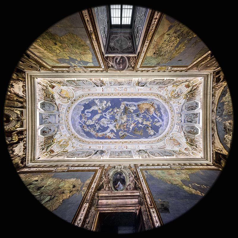 World Map Hall, Farnese Palace, Caprarola