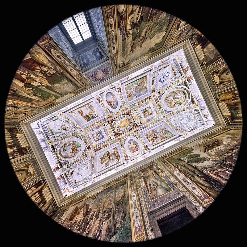 la Sala dei Fasti Farnesiani - Palazzo Farnese - Caprarola