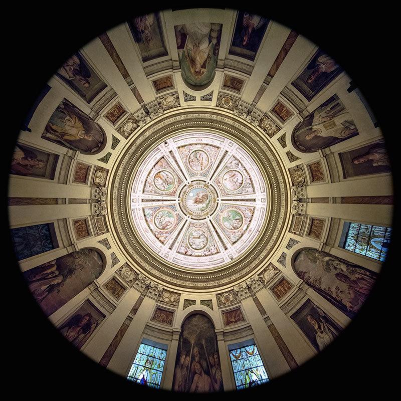 la Cappella nel Palazzo Farnese a Caprarola