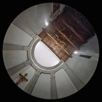 l'Abside della Pieve di San Martino a Gangalandi, a Lastra a Signa