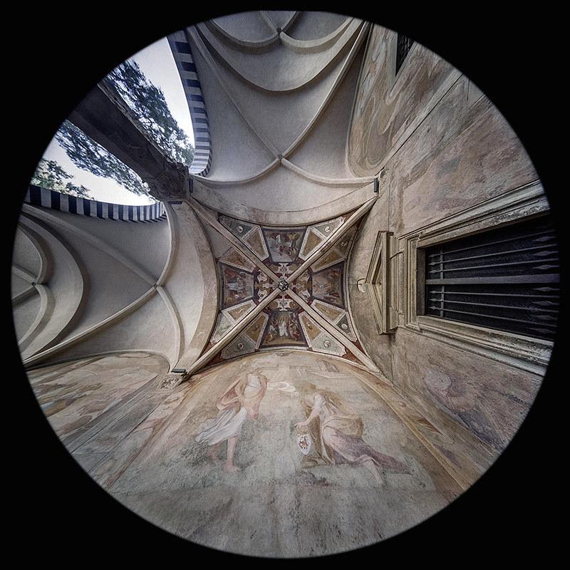 Portico del Chiostro Grande - Basilica di Santa Maria Novella - Firenze