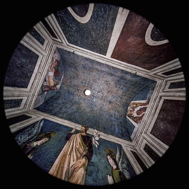il Sacello del Santo Sepolcro nella Cappella Rucellai