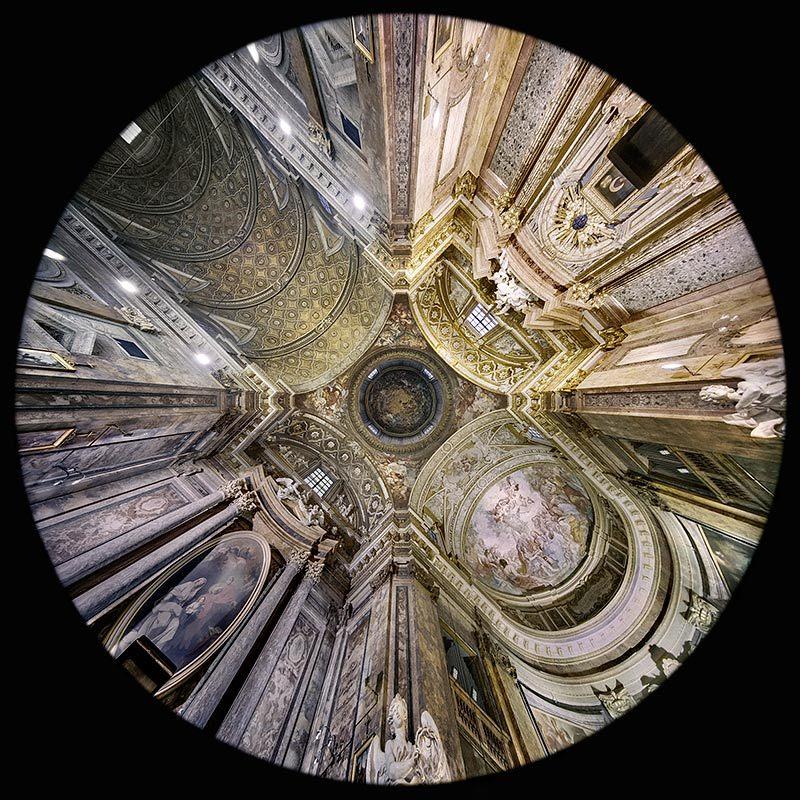 la Basilica di Sant'Andrea delle Fratte a Roma
