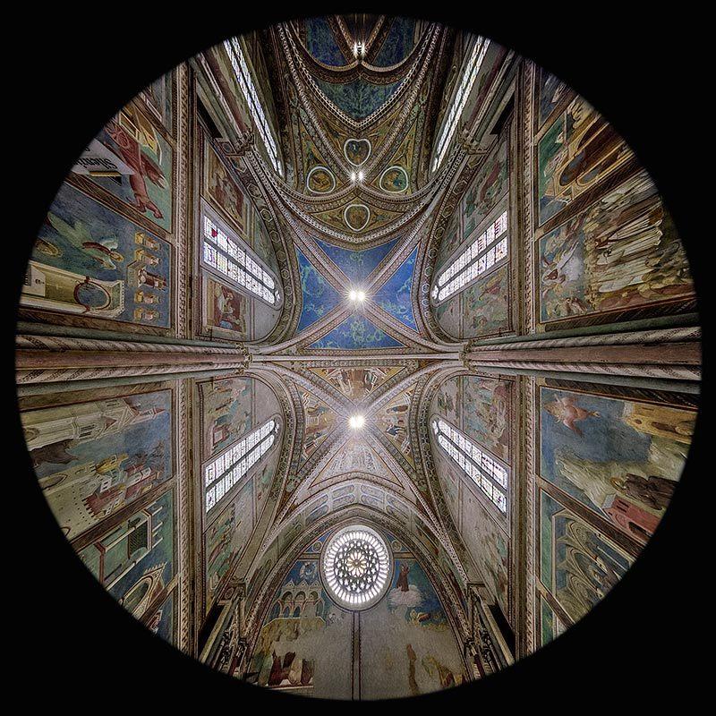 la Controfacciata della Chiesa Superiore