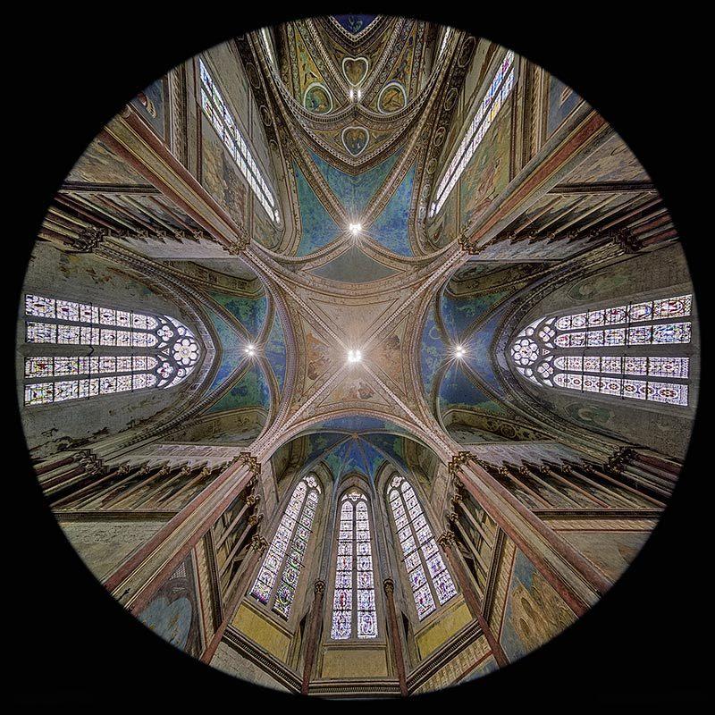 l'Abside della Chiesa Superiore