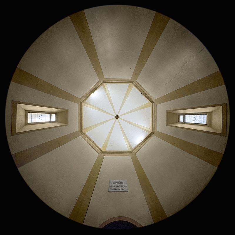la Cappella di San Michele Arcangelo a Semifonte, Barberino Val d'Elsa
