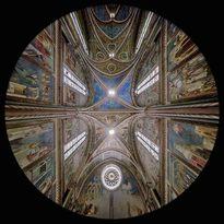 la Controfacciata della Chiesa Superiore di San Francesco - Assisi