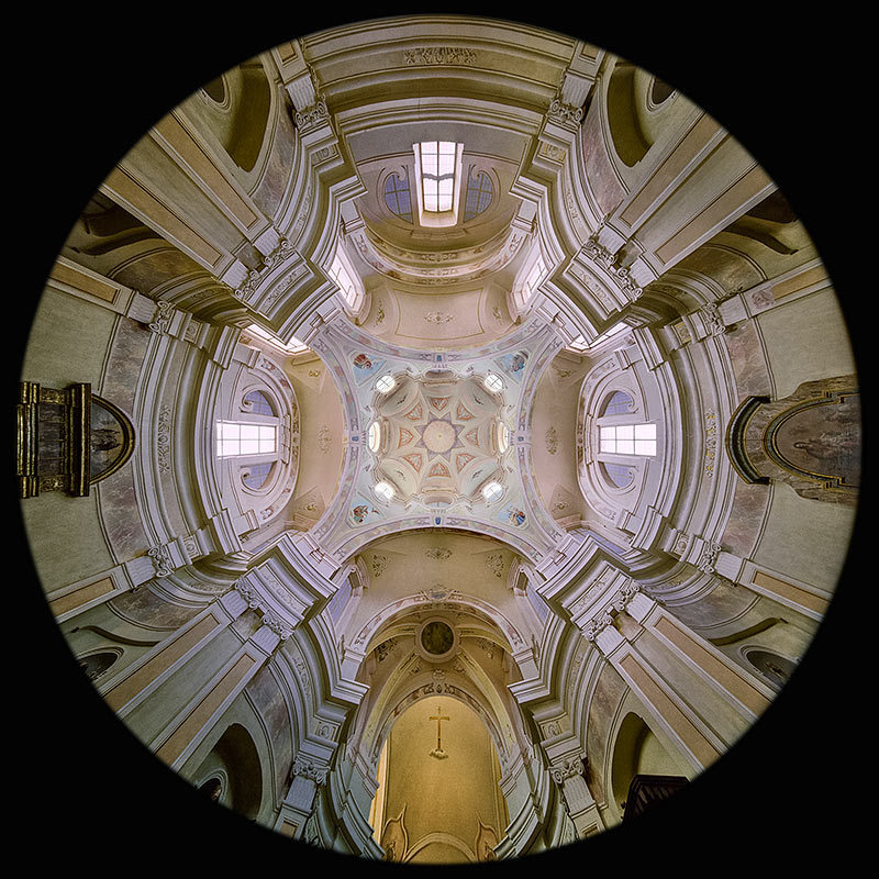 la Chiesa di Santa Croce a Villanova Mondovi'