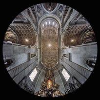 l'Abside della Basilica di San Pietro in Vaticano, Città del Vaticano