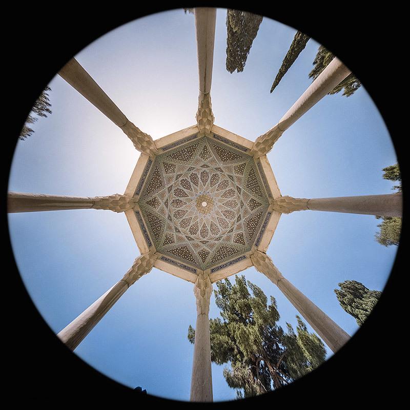 la Tomba di Hafez a Shiraz