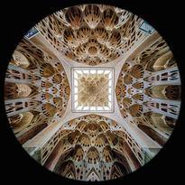 la Sala della Musica nel Palazzo Ali Qapu a Esfahan