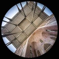 la Loggia nel Palazzo Ali Qapu a Esfahan