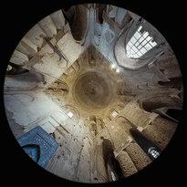 la Cupola Nezaam Al-Molk nella Moschea Jameh Atigh a Esfahan