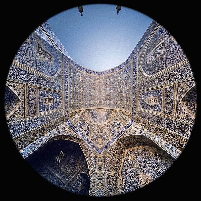 l'Iwan nord nella Moschea dello Scià a Esfahan