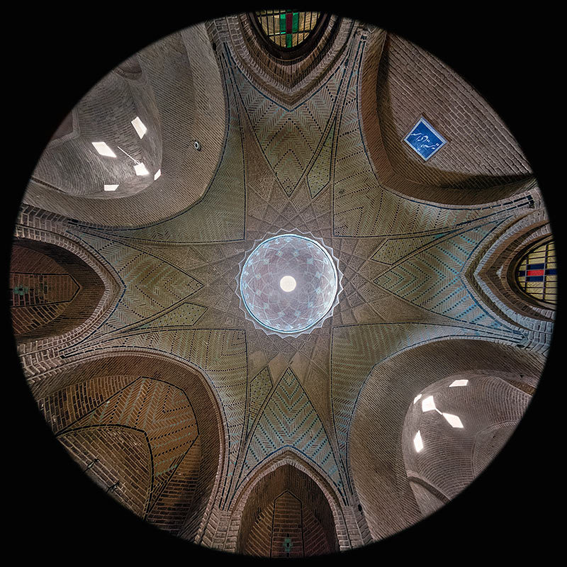 Cupola Rasteh Vazir, Caravanserraglio Sad-o-Saltaneh - Qazvin