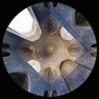 la Moschea dello Scià a Esfahan