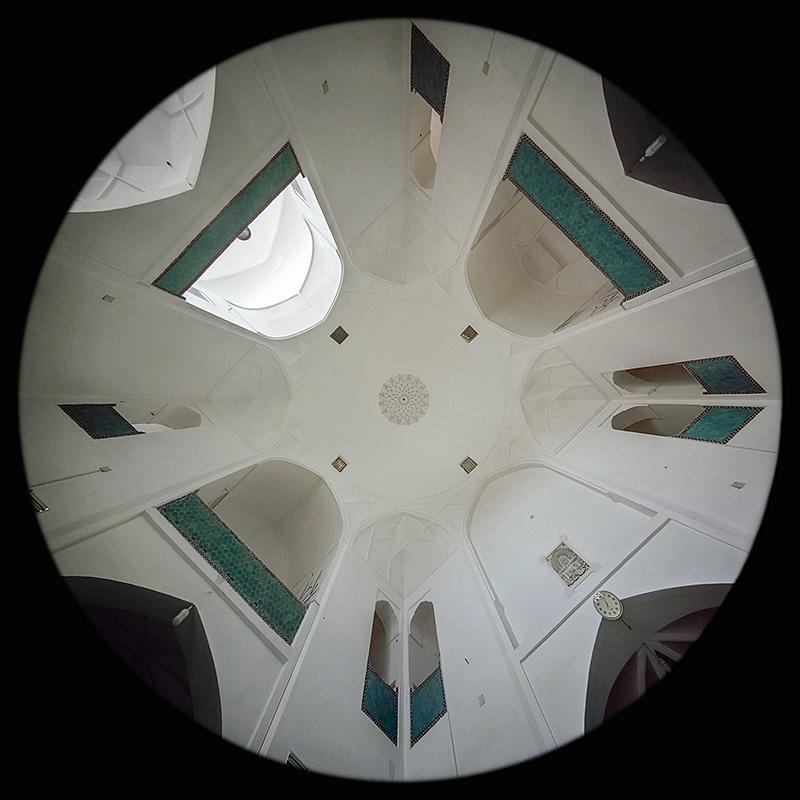 la Moschea Satti Fatimah a Yazd