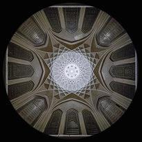 il Padiglione nel Giardino Dowlat Abad a Yazd