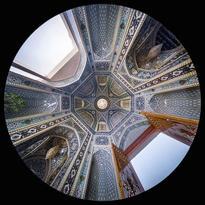 l'antico Atrio principale della Moschea Shah Cheragh a Shiraz