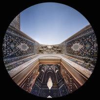 l'Iwan Reza nella Moschea Shah Cheragh a Shiraz