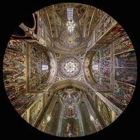 il Presbiterio della Cattedrale di Vank a Esfahan